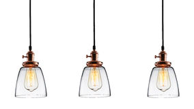 Glass lighting Stock Images