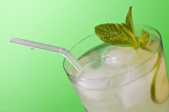 Glass of Limeade Stock Image