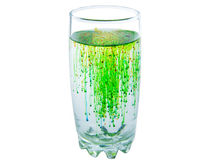 Glass of limonade Royalty Free Stock Photography