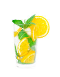Glass of limonade Royalty Free Stock Photos