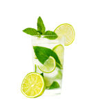 Glass of limonade Royalty Free Stock Images
