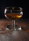 Glass with liqueur Royalty Free Stock Image