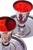 Glass for liqueurs Royalty Free Stock Photo