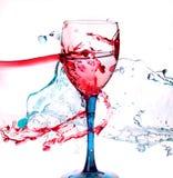Glass and liquid Stock Photos