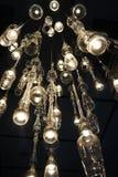 Glass ljuskrona (myraögonsikten) Royaltyfria Foton