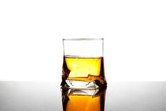 Glass with long drinks Royalty Free Stock Images
