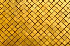 Glass mönstrade väggar Arkivbild