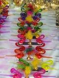 Glass made show pieces Stock Image
