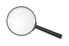 glass magnifying Στοκ φωτογραφίες με δικαίωμα ελεύθερης χρήσης