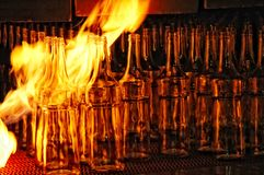 Glass making (3) Stock Images
