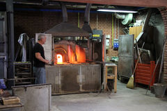 Glass Making Stock Images