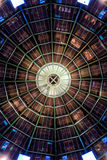 Glass mall dome Royalty Free Stock Photos