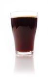 Glass of malt beer Stock Image