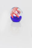 Glass man made paperweight Royalty Free Stock Photos