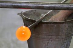 Glass manufacturing Stock Photos