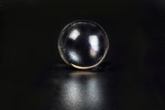 Glass marble ball stock photography