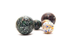 Glass marble balls Stock Images