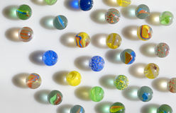 Glass marble balls Royalty Free Stock Photo