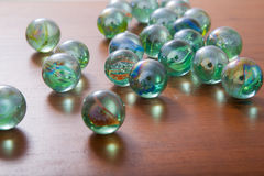 Glass marble balls Royalty Free Stock Photos