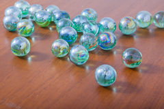 Glass marble balls Stock Image