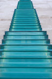 Glass and Marble Staircase Stock Image