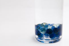 The glass marbles Stock Photos