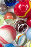 Glass Marbles Background Royalty Free Stock Photo