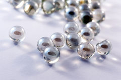 Glass marbles balls Stock Photography