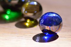 Glass Marbles Stock Photos