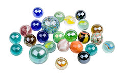 Glass marbles Royalty Free Stock Photos