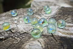 Glass marbles Royalty Free Stock Image