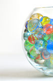 Glass marbles Royalty Free Stock Photography