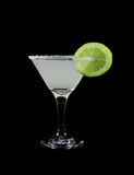 Glass of margarita cocktail Royalty Free Stock Image