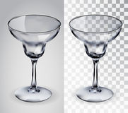Glass for margaritas. Royalty Free Stock Images