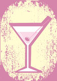 Glass of martini. Stock Photos