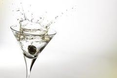 glass martini royaltyfri bild