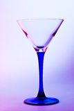 Glass for martini Royalty Free Stock Image