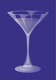 glass martini Arkivfoton
