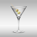Glass of Martini Royalty Free Stock Images