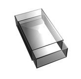 Glass matchbox Stock Images