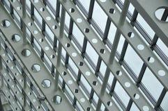 Glass and metal Stock Image