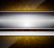 Glass and metal abstract background Royalty Free Stock Photography