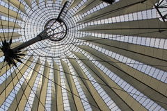 Glass-metal cupola Royalty Free Stock Photo