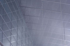 Glass and metal roof royalty free stock photo