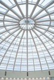 glass and metal, roof background Stock Photography