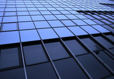 Glass and metal structure Stock Image