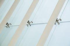 glass metallstruktur Royaltyfria Bilder