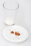 Glass of milk Royalty Free Stock Photography