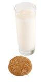 Glass milk Royalty Free Stock Image