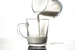 A glass of milk Royalty Free Stock Image